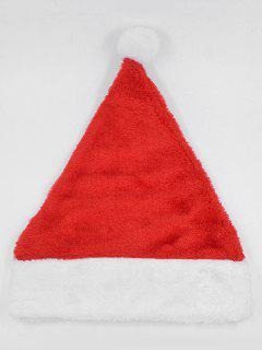 Christmas Decoration Party Hat - Lava Red