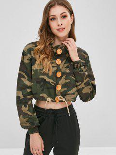 Veste Courte Boutonnée Camo - Acu Camouflage S