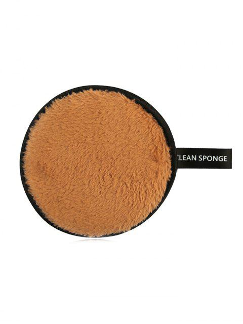 online Makeup Remover Soft Cotton Cleansing Powder Puff - TIGER ORANGE  Mobile