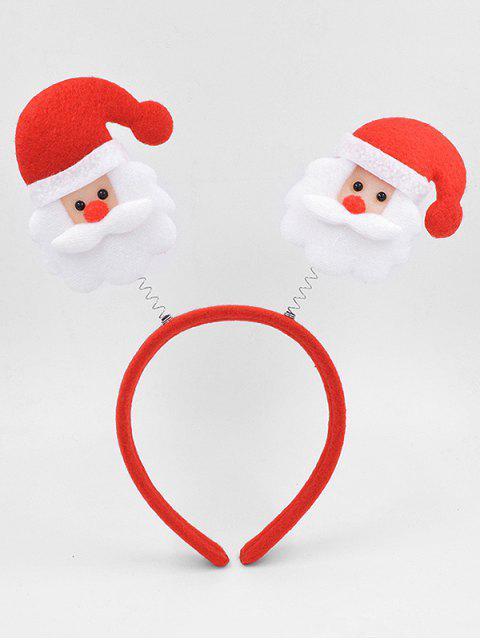 best Santa Claus Decorative Hair Hoop - LAVA RED  Mobile