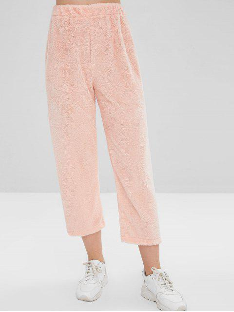 Pantalon en Laine - Orange Rose L Mobile