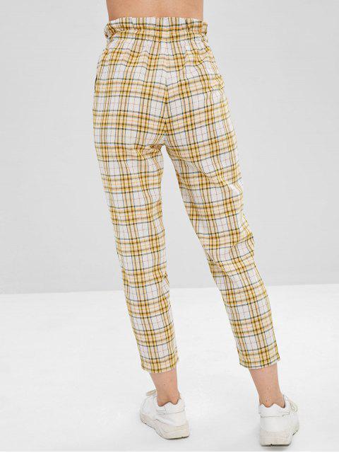 Neuvième pantalon à carreaux droit - Multi S Mobile