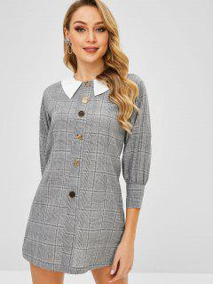 Bouton Mini Robe à Ornements - Gris