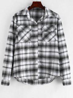 Chemise à Carreaux Avec Poches à Rabat - Multi S