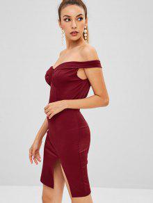 3a9e35e539ef Mini vestido de fiesta plegable de Bodycon