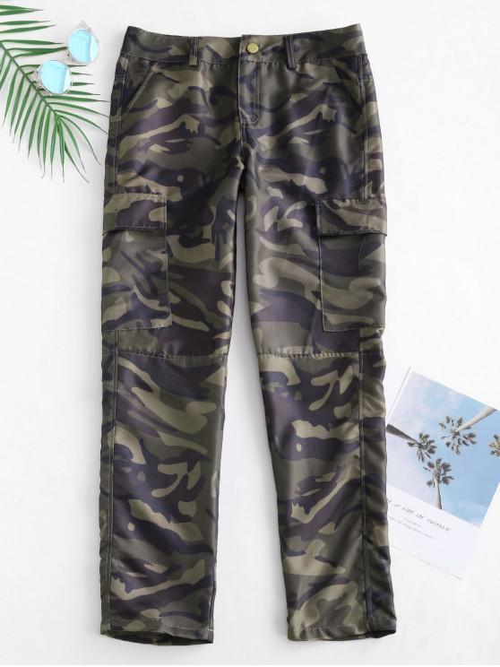Pantalones cargo estampados camuflaje - ACU Camuflaje L