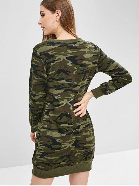 Robe Sweat-shirt Camouflage - ACU Camouflage M Mobile