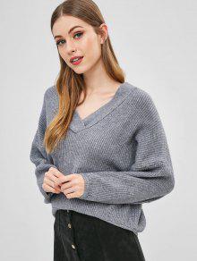 4852770935c Oversized V Neck Sweater  Oversized V Neck Sweater ...