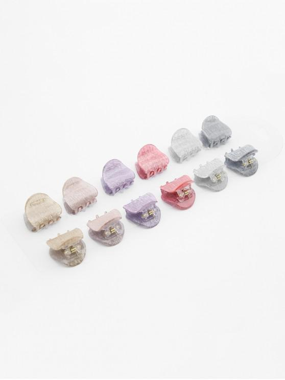 women's Multifunctional 12 Pcs Hair Claw Clip - MULTI-A