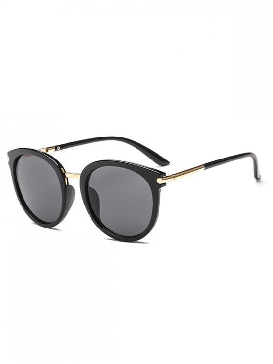 Round European American Young Style Sunglasses - Nero