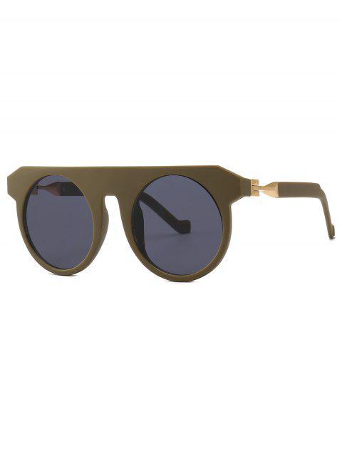 sale Stylish Round Design Circle Sunglasses - TAUPE  Mobile