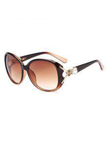 النظارات الشمسية الأمريكية الفراشة الشكل التدرج -
