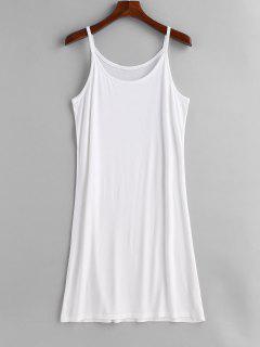 Camisa De Tirantes Sin Mangas De Talla Grande - Blanco