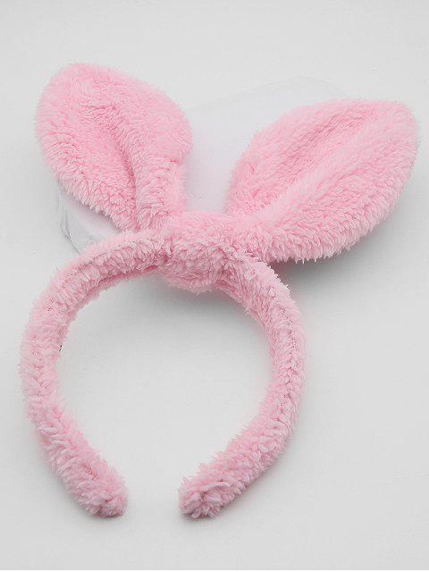 fashion Cute Rabbit Ear Hair Hoop - PINK  Mobile