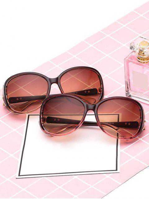 shop Stylish Butterfly Shape Decoration Sunglasses - DEEP PINK  Mobile