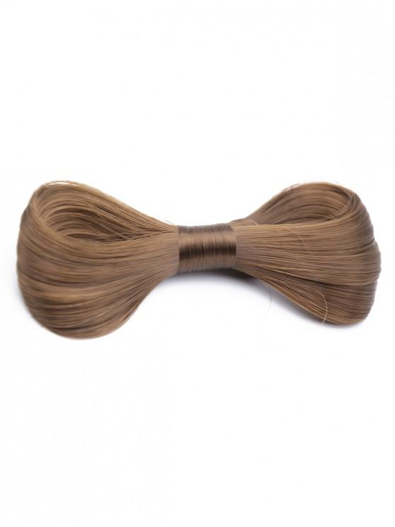 lady Bowknot Wig Embellished Hair Clip - CAMEL BROWN