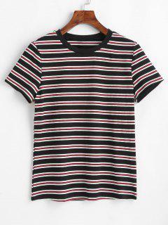 ZAFUL - Kurzärmliges T-Shirt Mit Streifen - Multi M