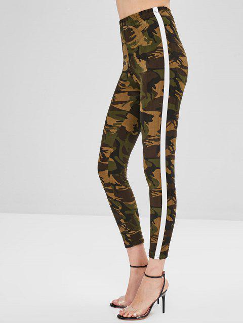 Legging à Ourlet Rayé - ACU Camouflage S Mobile