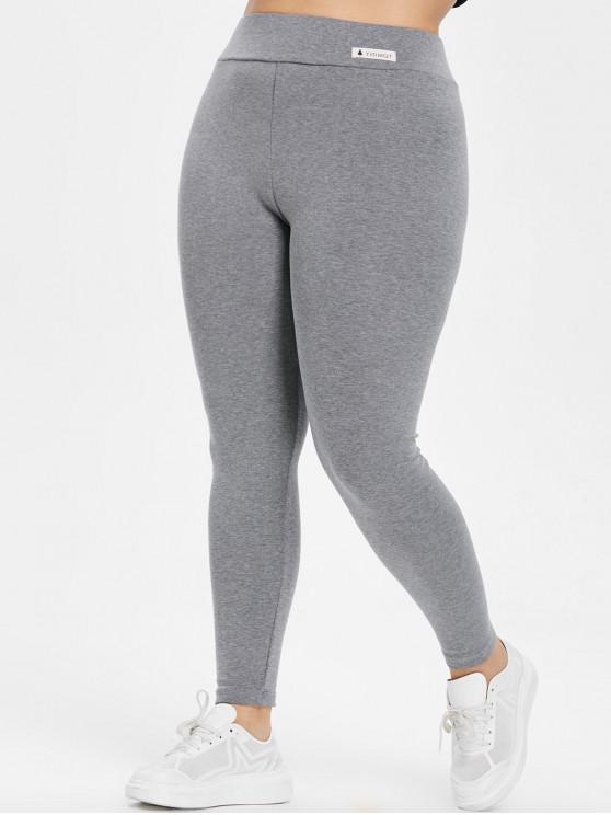 buy popular 1057f cf493 Leggings Aderenti Elastici Plus Size