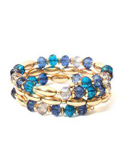 Beading Layer Decoration Bracelet - Gold