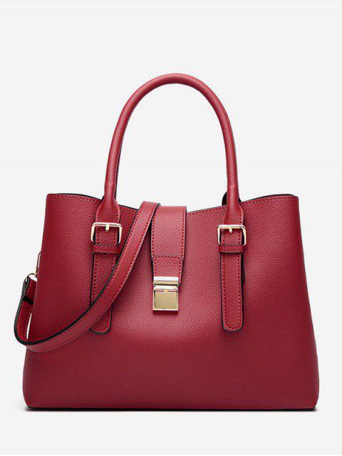 Retro Large Capacity Handbag - Красный  Mobile