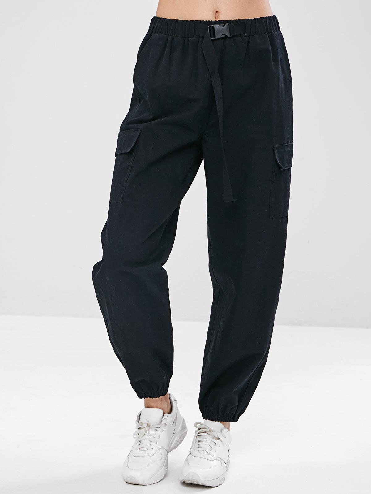 ZAFUL Drawstring Pocket Jogger Pants thumbnail