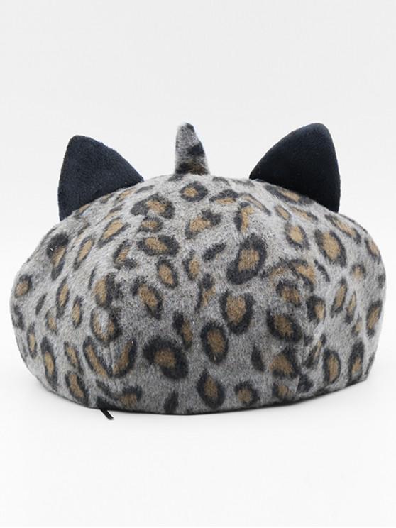 Stylish Leopard Pattern Fuzzy Hat - 2GB+32GB