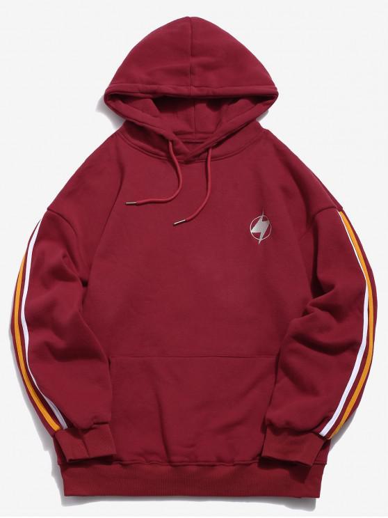 Sudadera con capucha con logo de Lightning - Rojo XS