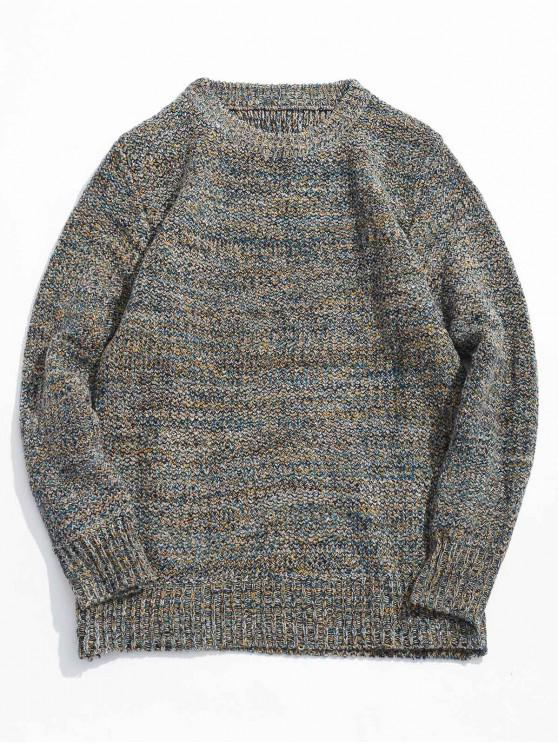 buy Heather Jumper Sweater - GRAY XS