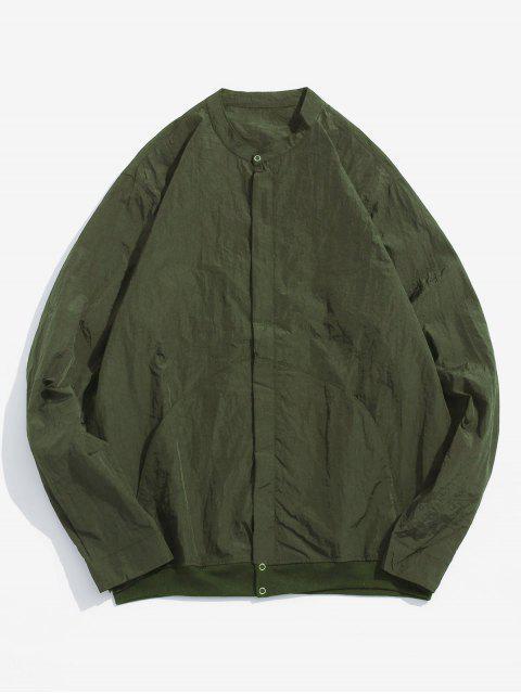 Veste Zippée avec Poches en Avant - Vert Armée  M Mobile