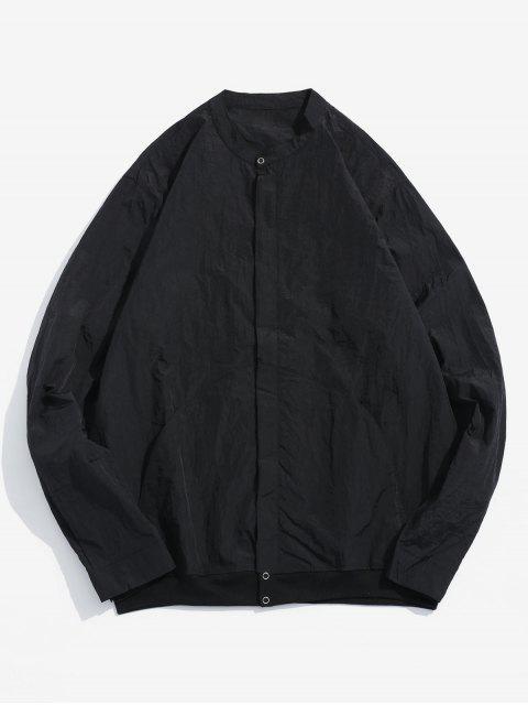 Veste Zippée avec Poches en Avant - Noir 3XL Mobile