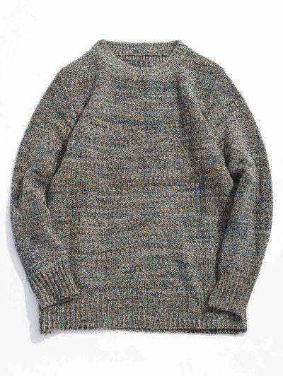 Heather Jumper Sweater - Gray M 4a089f2cb