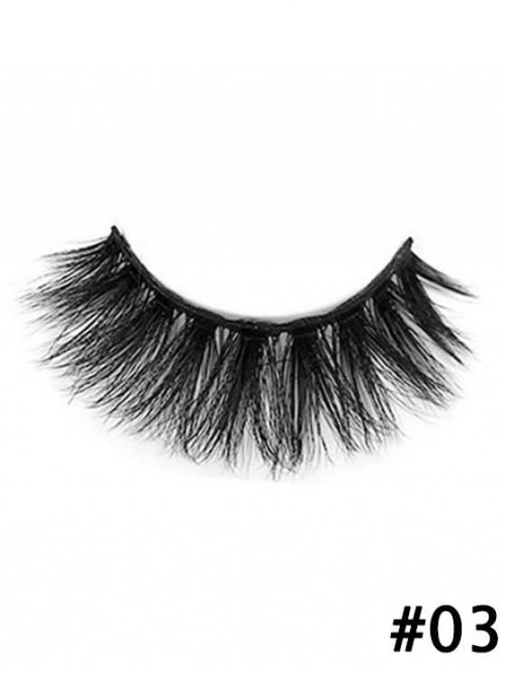 women's Handmade Long Extension False Eyelash - #003