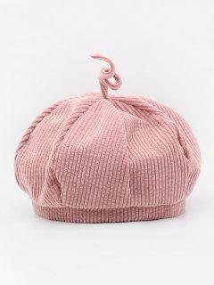 Simple Style Octagonal Design Hat - Pink