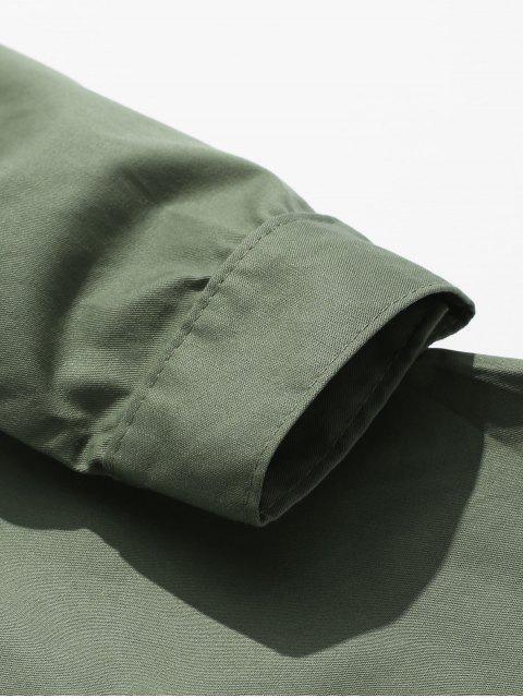 Veste Lâche avec Poche Poitrine - Vert Armée  L Mobile
