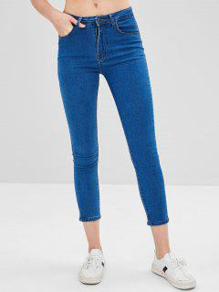 Basic Skinny Jeans - Blue M