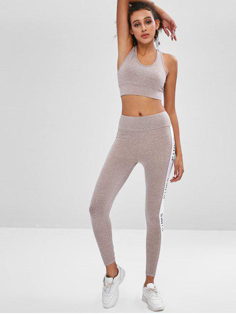Sport-BH und Leggings Sweat Suit - Multi M Mobile