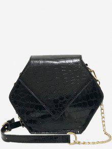 مسدس على شكل حقيبة كروسبودي - أسود