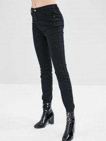 جينز بسيط بسط - أسود Xl