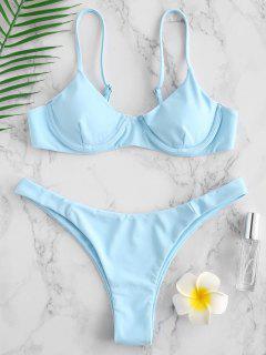 Bikini Con Ferretto Di ZAFUL - Azzurro M