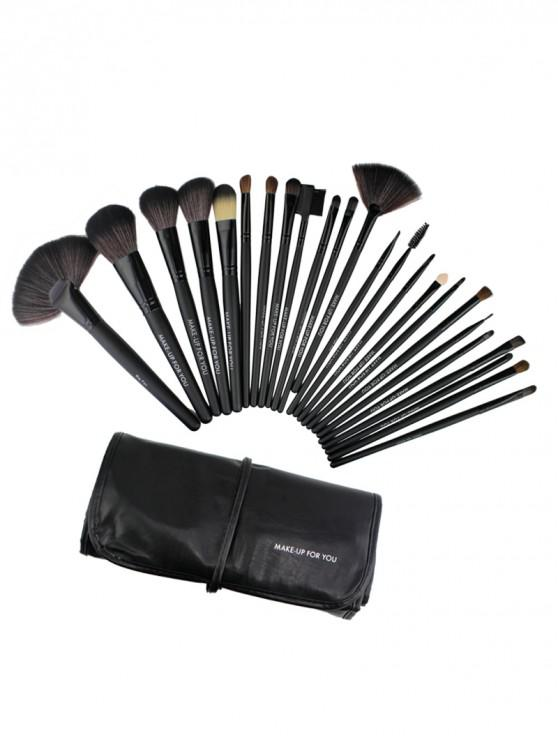 Beauty Tool Makeup Brushes Bag Set - Nero