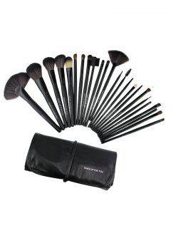 Beauty Tool Makeup Brushes Bag Set - Black