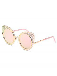 Casual Cat Eye Shape Sunglasses - Pink