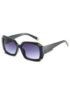 Vintage Square Shape Sunglasses - Black