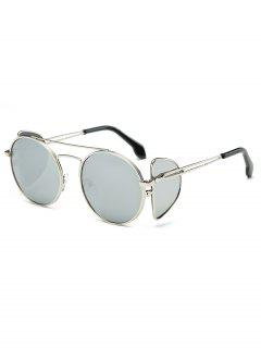 Novelty Four Lens Design Sunglasses - Gray Cloud