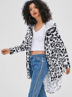 Leopard High Low Jacket - Leopard S