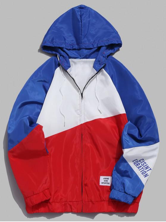Giacca A Contrasto - Rosso XL