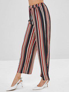 Ninth Stripes Wide Leg Pants - Multi-a Xl