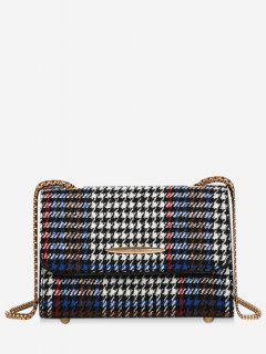 Fashionable Houndstooth Style Shoulder Bag - Marina De Guerra