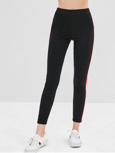Legging Monlant Elastique Bicolore - Noir M Mobile